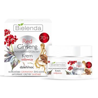 Bielenda Red Ginseng Anti-Wrinkle Moisturizer 70+ 50 ml