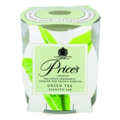 Price's Scented Candle Jar Green Tea 130 g