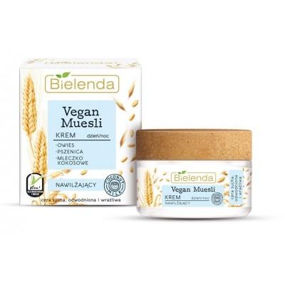 Bielenda Vegan Muesli Moisturizing Cream For Day & Night 50 ml