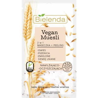 Bielenda Vegan Muesli 2in1 Moisturizing Mask 8 g
