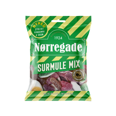 Nørregade Surmule Mix 115 g