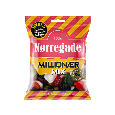 Nørregade Millionær Mix 115 g