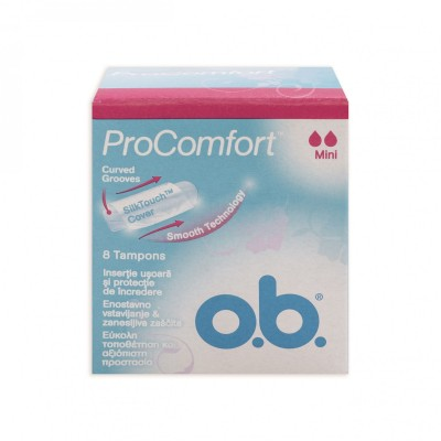 O.B. Pro Comfort Mini 8 kpl