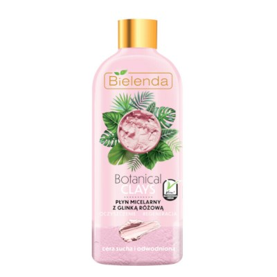 Bielenda Botanical Clays Vegan Micellar Liquid Pink Clay 500 ml