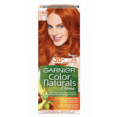 Garnier Color Naturals 7.40+ Copper Blond 1 kpl