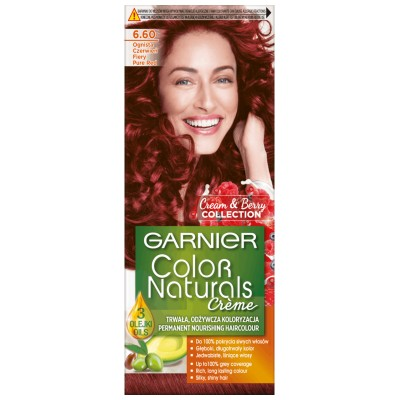 Garnier Color Naturals 6.60 Fiery Pure Red 1 st