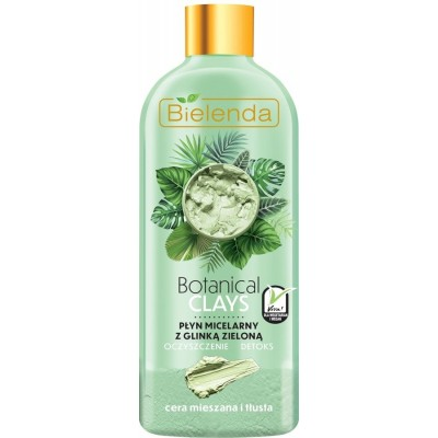 Bielenda Botanical Clays Vegan Micellar Liquid Green Clay 500 ml