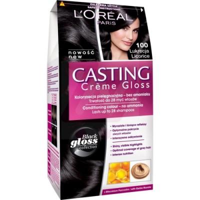 L'Oreal Casting Creme Gloss 100 Licorice 1 st