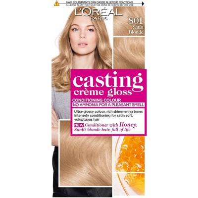 L'Oreal Casting Creme Gloss 801 Satin Blonde 1 kpl