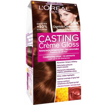 L'Oreal Casting Creme Gloss 554 Spicy Chocolate 1 st