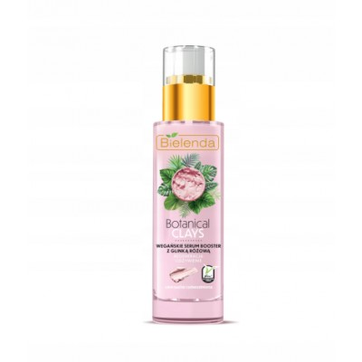 Bielenda Botanical Clays Vegan Serum Booster Pink Clay 30 ml