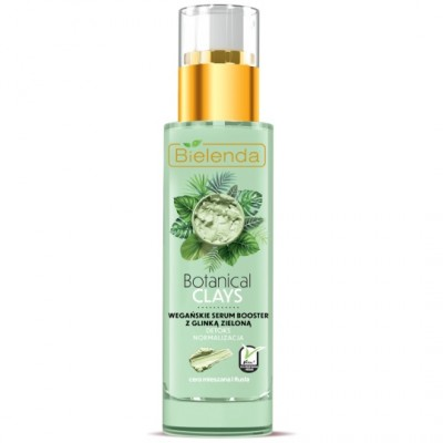 Bielenda Botanical Clays Vegan Serum Booster Green Clay 30 ml