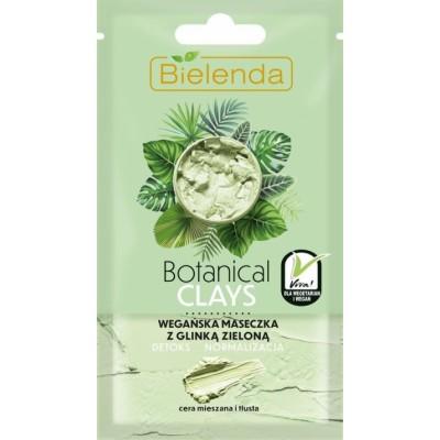 Bielenda Botanical Clays Vegan Face Mask Green Clay 8 ml