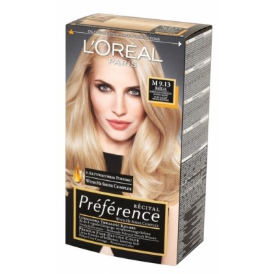 L'Oreal Preference M9.13 Very Light Beige Blonde 1 stk
