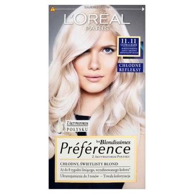 L'Oreal Preference 11.11 Ultra Light 1 st