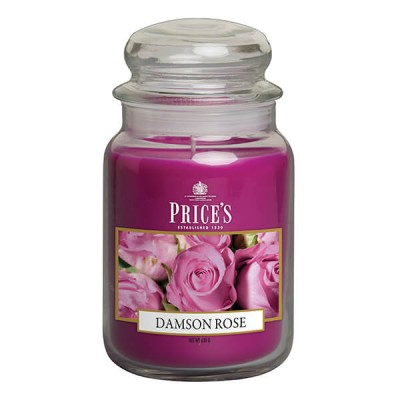 Price's Scented Candle Damson Rose 630 g