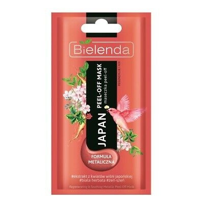 Bielenda Japan Peel-Off Mask Regenerates & Soothes 8 g