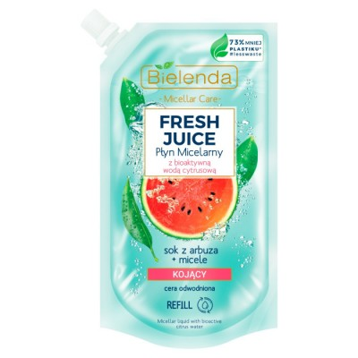 Bielenda Fresh Juice Micellar Liquid Watermelon 500 ml