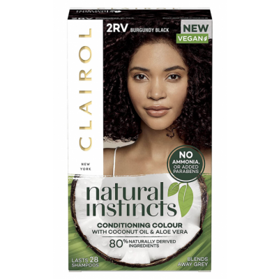 Clairol Natural Instincts Vegan Hair Color Burgundy Black 1 stk