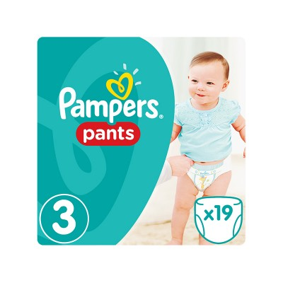 Pampers Nappy Pants 3 19 stk