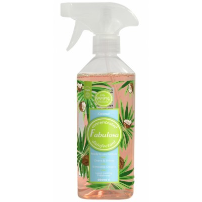 Fabulosa Concentrated Disinfectant Spray Coconut 500 ml