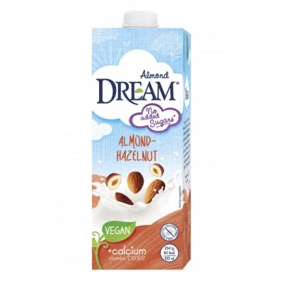 Dream Almond Hasselpähkinä + Kalsium Mantelimaito 1000 ml