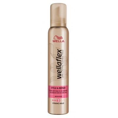 Wella Wellaflex Style & Repair Mousse 200 ml