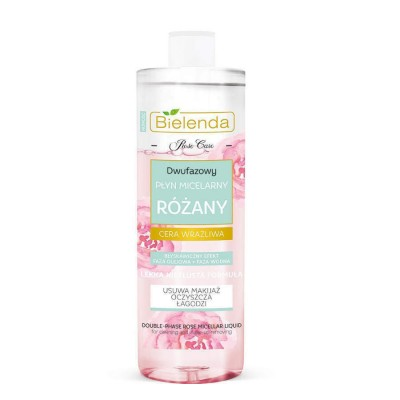 Bielenda Rose Care Double-Phase Make-Up Remover 140 ml