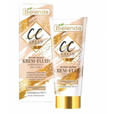 Bielenda CC 10in1 Multifunctional Cream-Fluid Body Corrective SPF6 175 ml