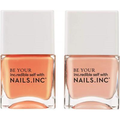 Nails Inc. Kiss My Peach Duo 2 x 14 ml