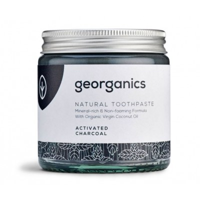 Georganics Natural Toothpaste Activated Charcoal 60 ml