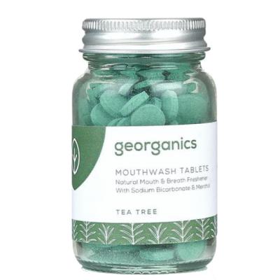 Georganics Mouthwash Tablets Tea Tree 180 stk