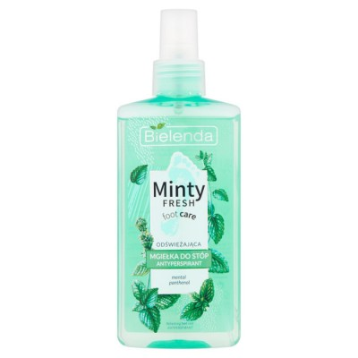Bielenda Minty Fresh Refreshing Antiperspirant Menthol Foot Spray 150 ml