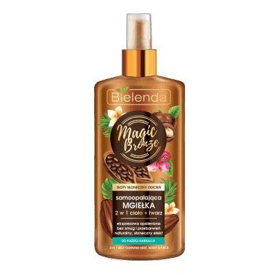Bielenda Magic Bronze Self Tanning Mist 2in1 For Body & Face 150 ml
