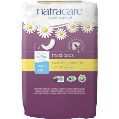 NatraCare Maxi Pads Super 12 st