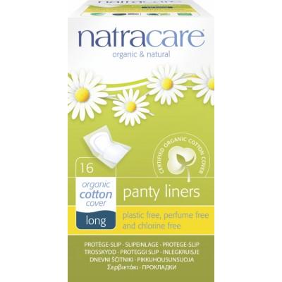 NatraCare Organic Cotton Panty Liners Long 16 pcs