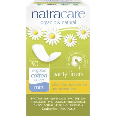 NatraCare Organic Cotton Panty Liners Mini 30 kpl