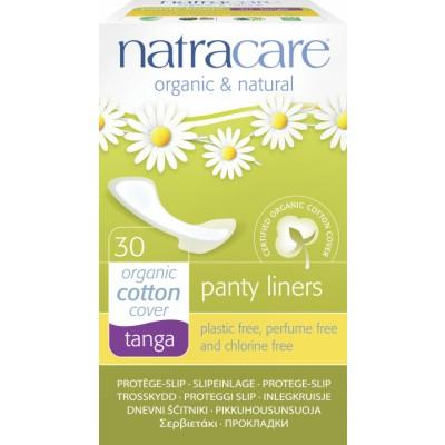 NatraCare Organic Cotton Panty Liners Tanga 30 pcs