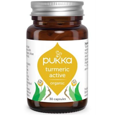 Pukka Turmeric Active Capsules 30 st