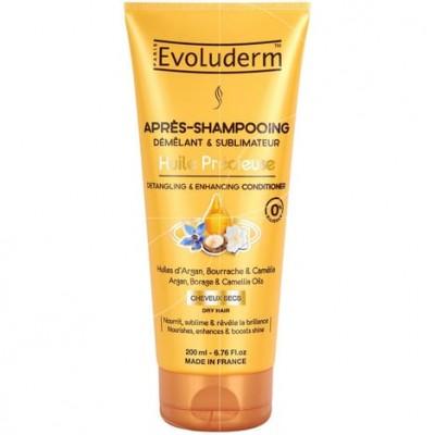 Evoluderm Huile Precieuse Detangling & Enhancing Conditioner 200 ml
