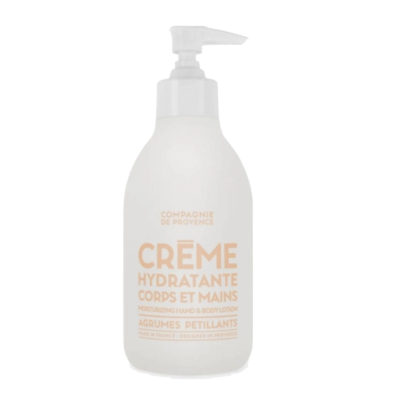Compagnie De Provence Extra Pur Hand & Body Cream Sparkling Citrus 300 ml