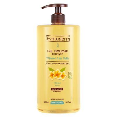 Evoluderm Monoi A La Folie Stimulating Shower Gel 1000 ml
