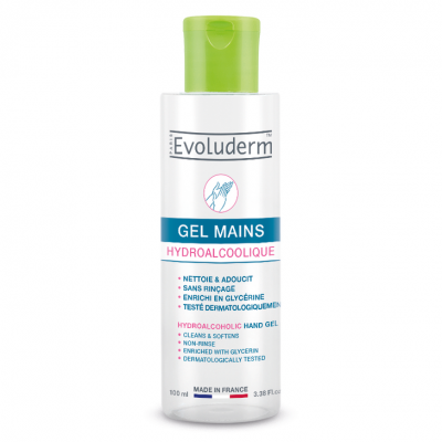 Evoluderm Hydroalcoholic Hand Gel 100 ml