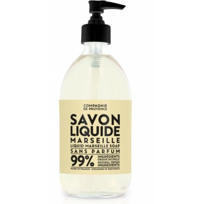 Compagnie De Provence  Maison Marseille Liquid Soap Fragrance Free 495 ml