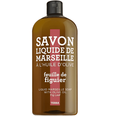 Compagnie De Provence  Terra Marseille Liquid Soap Fig Leaf 1000 ml