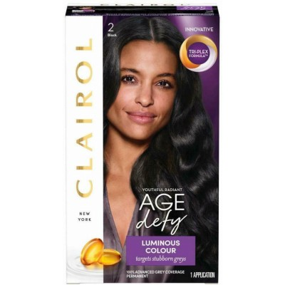 Clairol Age Defy Luminous Colour 2 Black 1 stk