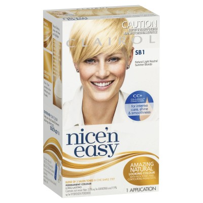 Clairol Nice 'n' Easy SB1 Natural Light Summer Blonde 1 kpl