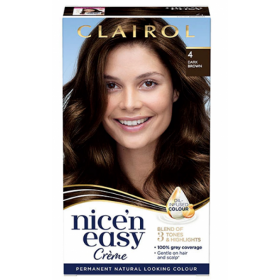Clairol Nice 'n' Easy 4 Natural Dark Brown 1 kpl