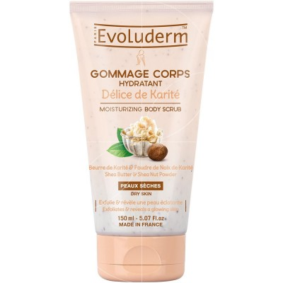 Evoluderm Shea Butter Moisturizing Body Scrub 150 ml