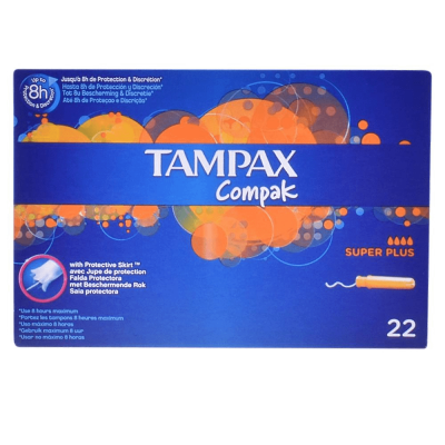 Tampax Compak Super Plus 22 kpl
